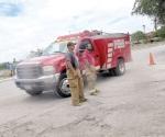Bomberos controlan incendio de unidad