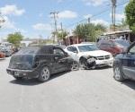 Daños materiales en colisión vehicular