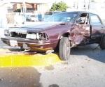 Daños materiales en accidente vial