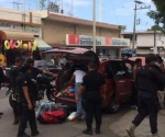 Turistas asaltan tienda y los detienen en persecución, en Madero