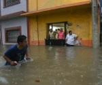 Tormenta tropical 'Franklin' pega en Campeche