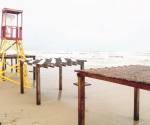 Oleaje y vientos en Playa Bagdad