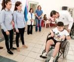 Entrega DIF Reynosa sillas de ruedas