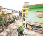 Inicia Sedena remoción de escombros en Edomex