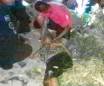 Arrolladas en banqueta madre e hija en Las Palmas