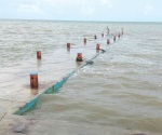 Sube nivel de agua en la Laguna Madre