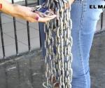 Retiran cadenas de la Ramón López Velarde