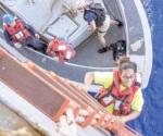 Dos mujeres y sus perros, rescatadas tras cinco meses con un velero a la deriva en el Pacífico