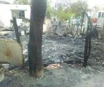 Deja el fuego a familias en calle