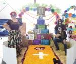 Premian a mejores  altares de muertos en la UAMRA