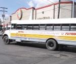 Paralizan revisión de transporte