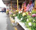 Casi muerta la comercialización de flores y arreglos