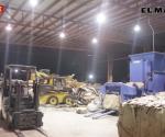 Clausuran empresa recicladora bajo control del crimen