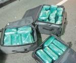 Frenan millonaria carga de cocaína
