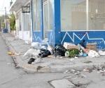 Sin cultura de limpieza así viven ciudadanos