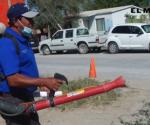 Piden vecinos fumigación en la colonia Almaguer