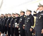 Exaltan labor de almirantes retirados