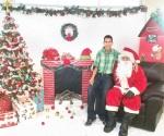 A tomarse la foto con Santa