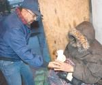 Sale PC a buscar indigentes y vulnerables