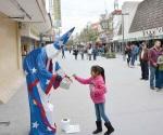 Aparece ´el mago Merlin´ en Reynosa