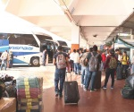 Aumenta el flujo de pasajeros