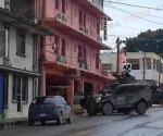 Incursiona Ejército en hotel y arresta a 4