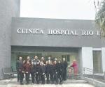 Visitan estudiantes la clínica del ISSSTE