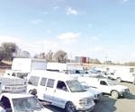 Aseguran 19 camionetas con 33 mil litros de combustible