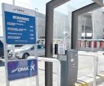 'Por las nubes' estacionamiento del aeropuerto