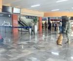 Falsa amenaza de bomba en aeropuerto ocasiona movilización