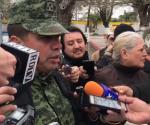 Habla el coronel Francisco Montejano sobre el número de migrantes rescatados en Matamoros