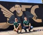 Vandalizan mural de Carlos Vela en Los Ángeles