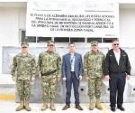 Marinos instalan cuartel en Altamira