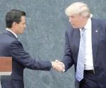 Se reunirán Trump y Peña Nieto próximamente