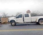 Aseguran enervante y camioneta