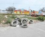 Mucha basura y desechos sacan del Rodhe con limpia