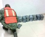 Atoran 50 kilos de cocaína