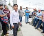 Se manifiestan obreros al exigir  respeten sus  derechos laborales