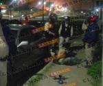 Atrapan veladores a un roba medidores en Madero