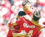 Hilvana Toluca tercer triunfo
