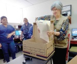 Comienzan preparativos para cambiar de oficinas temporales en S. Salud