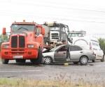 Maestra de Río  Bravo, muere en  un accidente