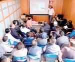 Chafiretes se preparan con cursos de capacitación