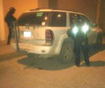 Recuperan vehículo robado con violencia