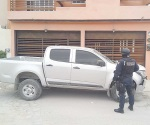 Localizan en patrullaje camioneta S-10 hurtada
