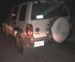 Recuperan en San Fernando camioneta robada en Reynosa
