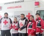 Campaña de la Cruz Roja de concientización de uso de cinturón
