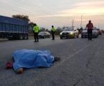Muere hombre atropellado en Ciudad Victoria