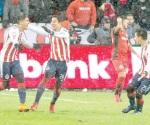 ¡Guadalajara pega primero!