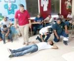 Promueven cursos de primeros auxilios brigadistas voluntarios